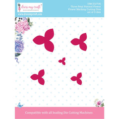 Dress My Craft Dies - Flower Making- 3 Petal Pointed Flower