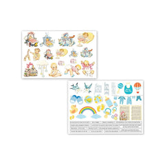 Dress My Crafts - Fussy Cutting Image Sheet 240gsm A4 2per pack - Precious Baby Boy
