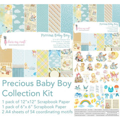 Dress My Crafts Collection Kit Bundle - Precious Baby Boy