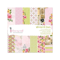 Dress My Crafts - Single-Sided Paper Pad 6X6in 24 per pack Whimsical Hues