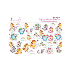 Dress My Crafts Die-Cuts 49 per pack - Magical Unicorn