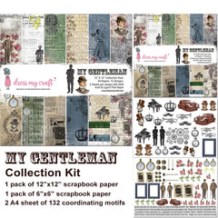 Dress My Craft Collection Kit The Gentleman