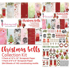 Dress My Craft Collection Kit Christmas Bells