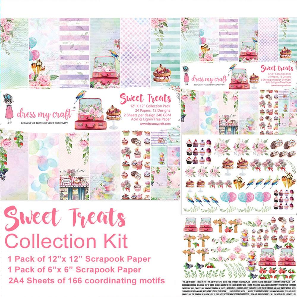 Dress My Craft Collection Kit - Sweet Treats