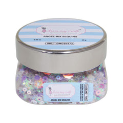 Dress My Crafts Sequins 25gms - Angel Mix
