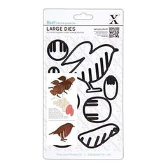 Docrafts - Xcut Decorative Dies Large - Christmas In The Country Robin