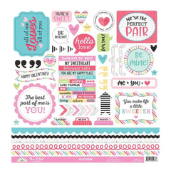 Doodlebug Cardstock Stickers 12 inch X12 inch So Punny This & That