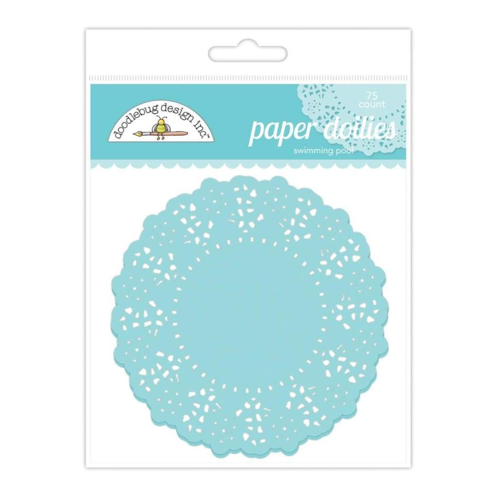 Doodlebug Doilies 4.5 inch 75 pack Swimming Pool