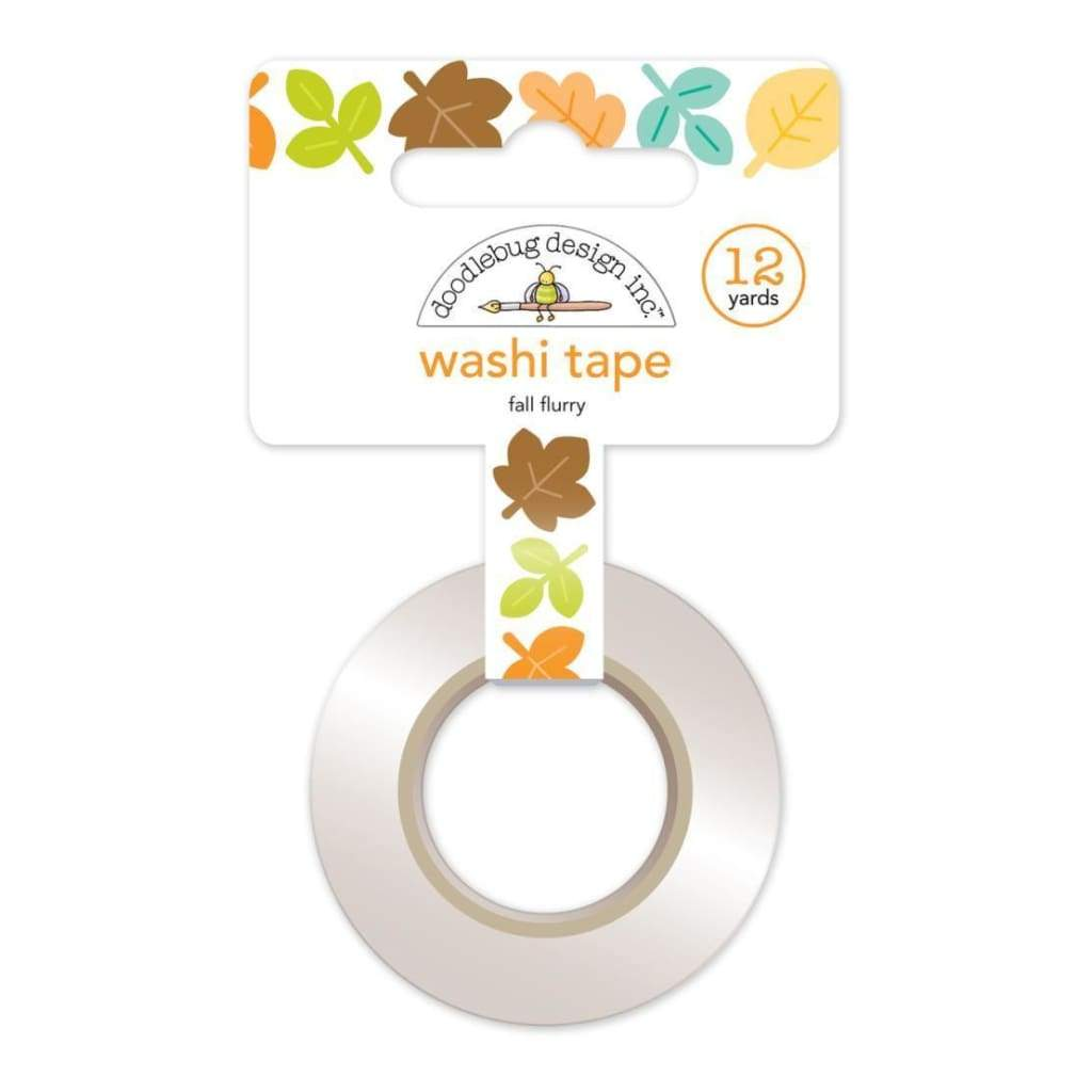Doodlebug Washi Tape 15mmX12yd Flea Market Fall Flurry