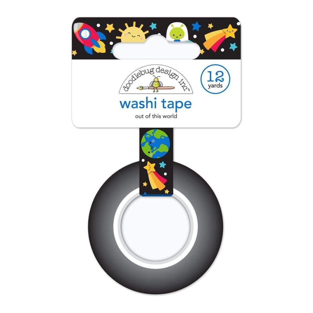 Doodlebug - Washi Tape 15mmx12yd Out Of This World