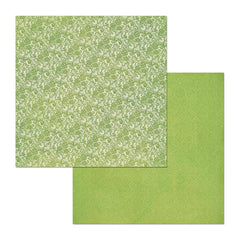 BoBunny - Double Dot Lace Double-Sided Cardstock 12X12in - Avocado