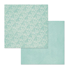 BoBunny - Double Dot Lace Double-Sided Cardstock 12X12in - Island Mist