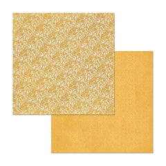 BoBunny - Double Dot Lace Double-Sided Cardstock 12X12in - Maize