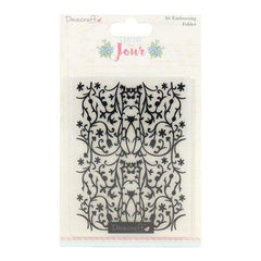 Dovecraft Couture du Jour A6 Embossing Folder
