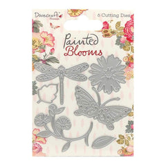 Dovecraft Dies - Painted Blooms, 6 pack