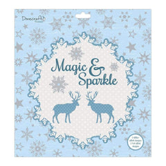 Dovecraft Paper Pack 12X12 36 pack Magic & Sparkle, 12 Designs/3 Each