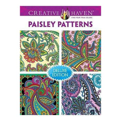 Dover Publications Creative Haven Paisley Pattern
