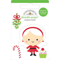 Doodlebug - Doodle-Pops 3D Stickers - Mrs. Claus, Christmas Magic