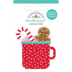 Doodlebug - Doodle-Pops 3D Stickers - Hot Cocoa, Christmas Magic