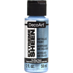 DecoArt Extreme Sheen Paint 2oz - Sky Blue Topaz