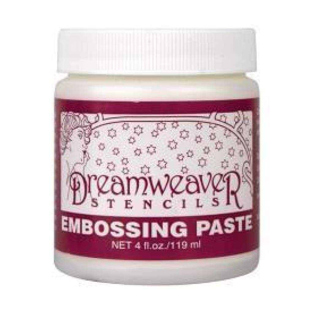Dreamweaver Embossing Paste 4Oz Regular