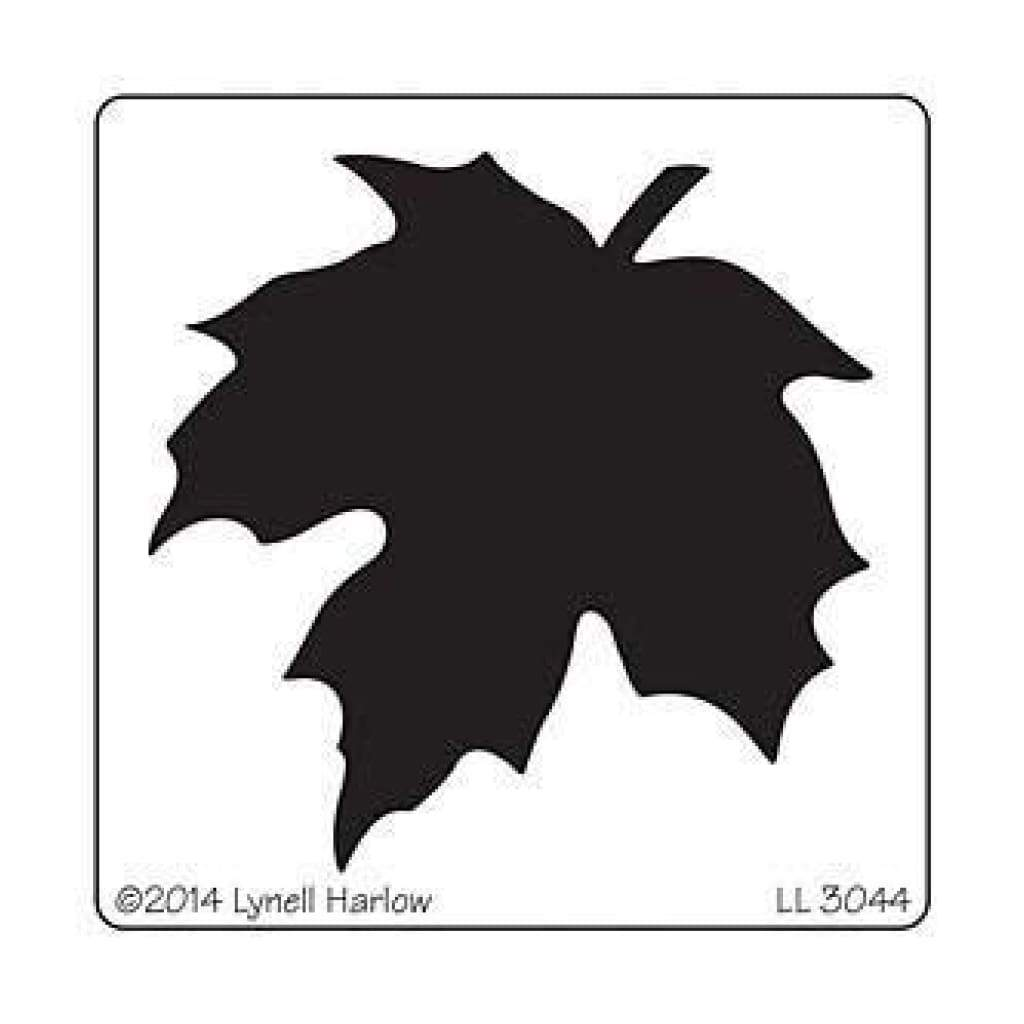 Dreamweaver Metal Stencil 4In.X6.75In. Large Maple Leaf