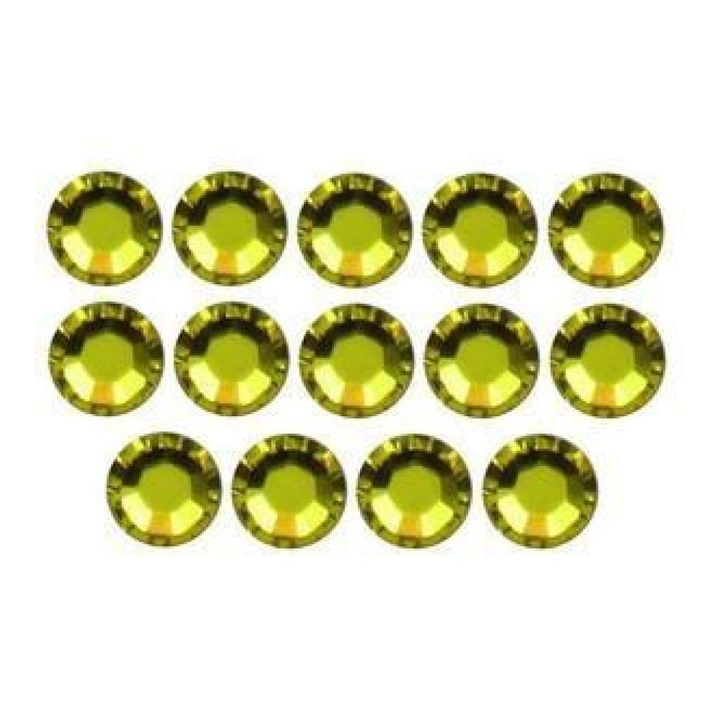 Dress It Up Embellishments - Citrine Swarovski Rhinestones 20Ss