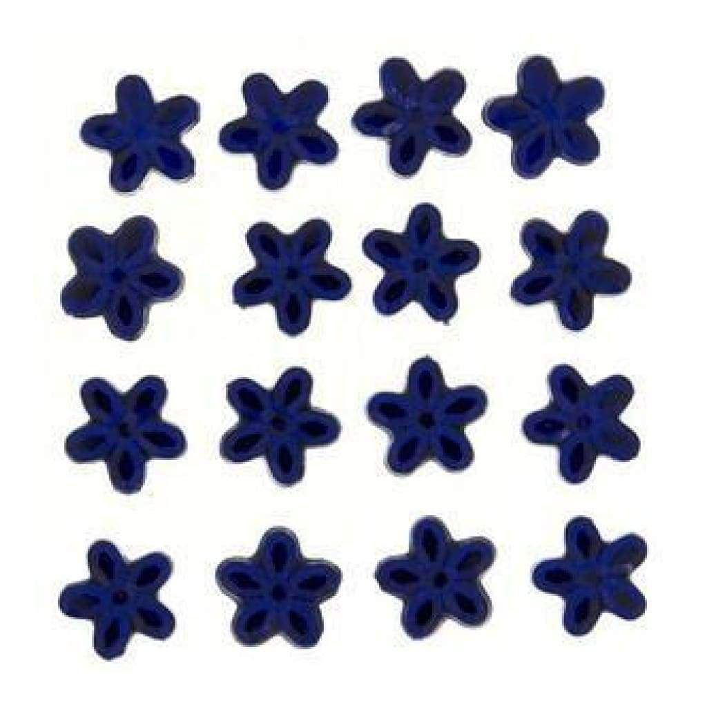 Dress It Up Embellishments - Royal Blue Petals 10Mm