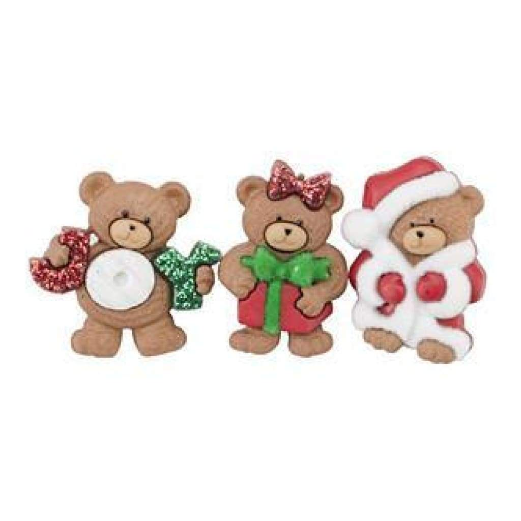 Dress It Up Holiday Embellishments A Beary Merry Christmas
