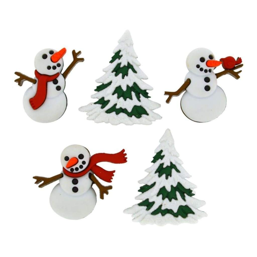Dress It Up Holiday Embellishments Let It Snow