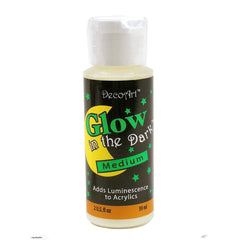 DecoArt - Glow in The Dark Medium, 2oz