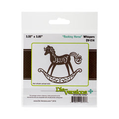 Die-Versions - Whispers Die Rocking Horse, 3.55X3.85