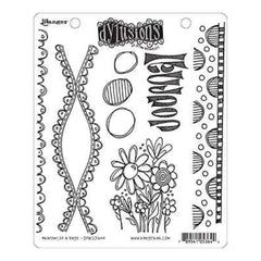 Dyan Reaveley's Dylusions Cling Stamp Collections 8.5Inch X7inch Anatomy Of A Page