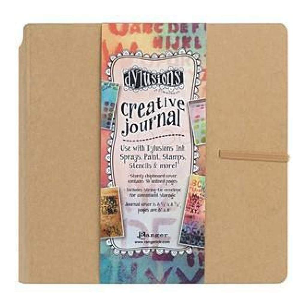 Dylusions Dyan Reaveley's Creative Square Journal 8 Inch X8 Inch