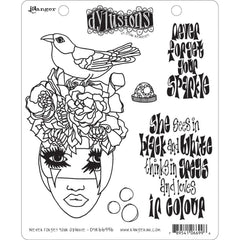 Black Sheep 46189 Dyan Reaveley/'s Dylusions Cling Stamp Collections