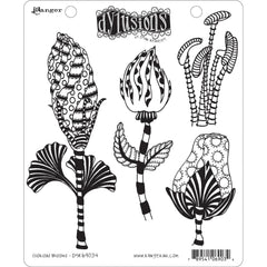 Dyan Reaveleys Dylusions - Cling Stamps 8.5 inchX7 inch - Glorious Blooms