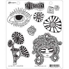 Dyan Reaveleys Dylusions - Cling Stamps 8.5 inchX7 inch - Ocean Life
