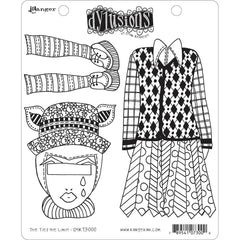 Dyan Reaveleys Dylusions Cling Stamp Collections 8.5in x 7in - The Ties The Limit!