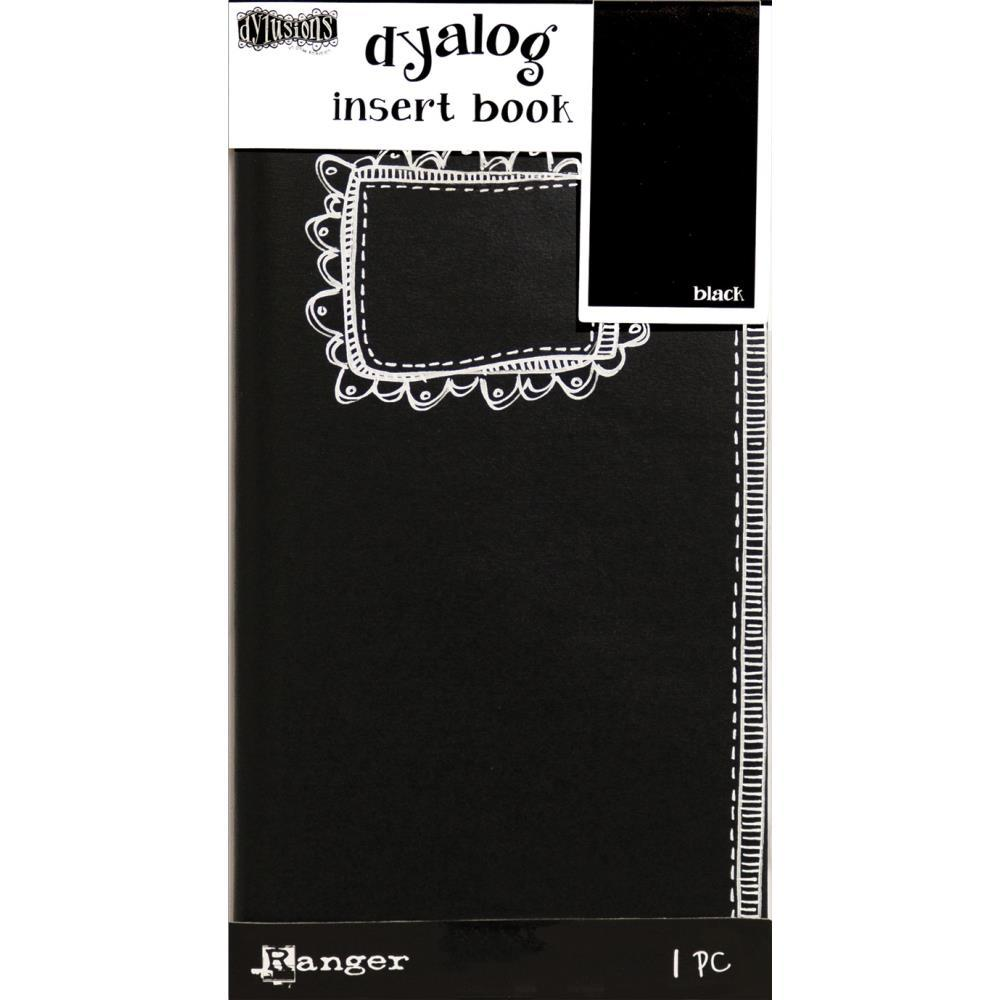 "Dyan Reaveley/'s Dylusions Black Journal Small 5/""x8/"""