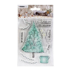 Studio Light Winter Charm Clear Stamps - NR. 489