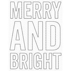 My Favorite Things Die-namics Die - Very Merry & Bright