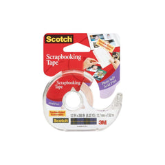 "3M Scotch Scrapbooking Tape Double-Sided Removable .5""X300"""
