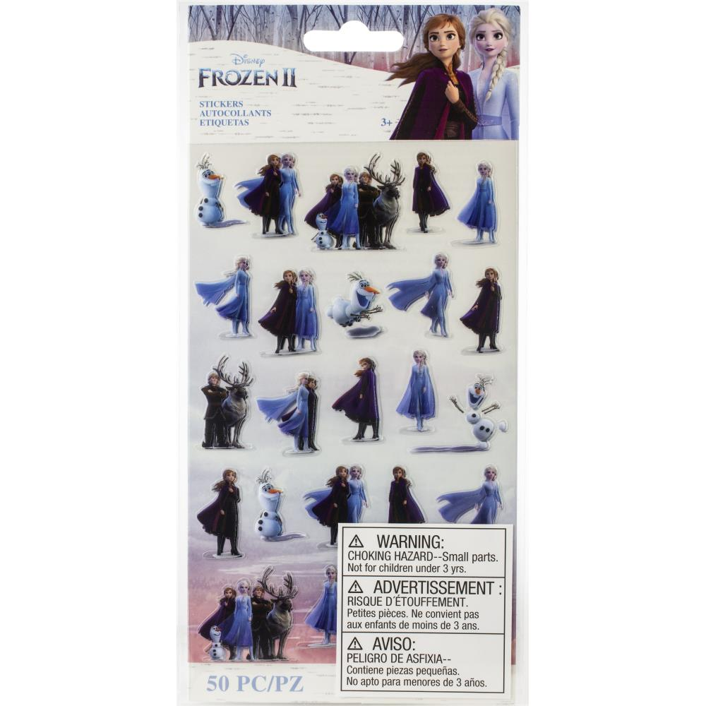 EK Disney Frozen II Stickers 2/Sheets - Tiny Characters