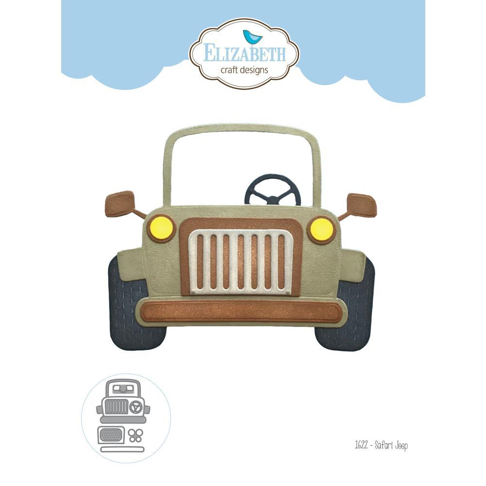 Elizabeth Craft Metal Die - Safari Jeep