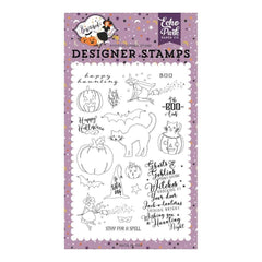 Echo Park - Bewitched Collection - Stamp Set - Ghosts & Goblins
