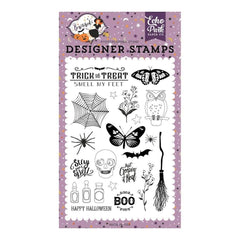 Echo Park - Bewitched Collection - Stamp Set - Stay For A Spell
