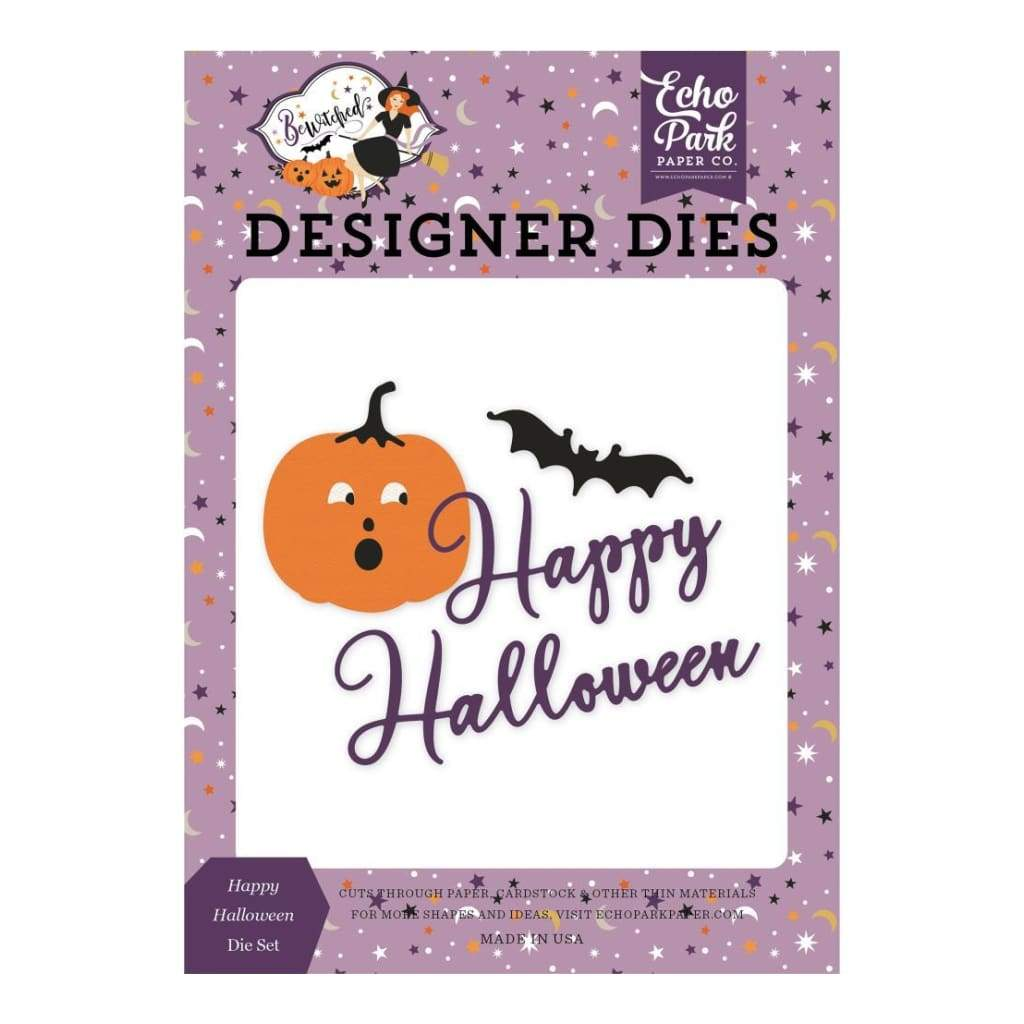 Echo Park - Bewitched Die Collection - Happy Halloween