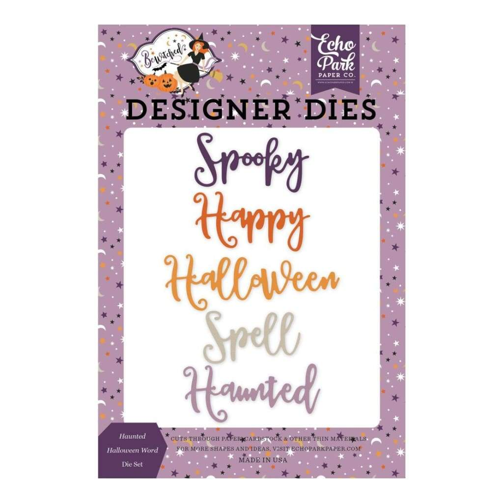 Echo Park - Bewitched Die Collection - Haunted Halloween