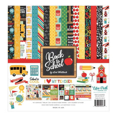 Echo Park Collection Kit 12 inch X12 inch Back To School