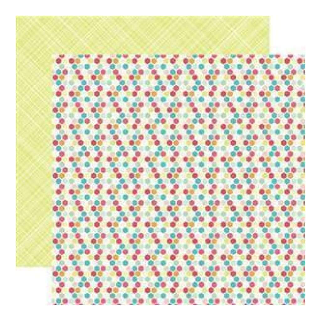 Echo Park - Everyday Eclectic - Hexagons 12X12 Inch Double-Sided Paper (Pack Of 10)